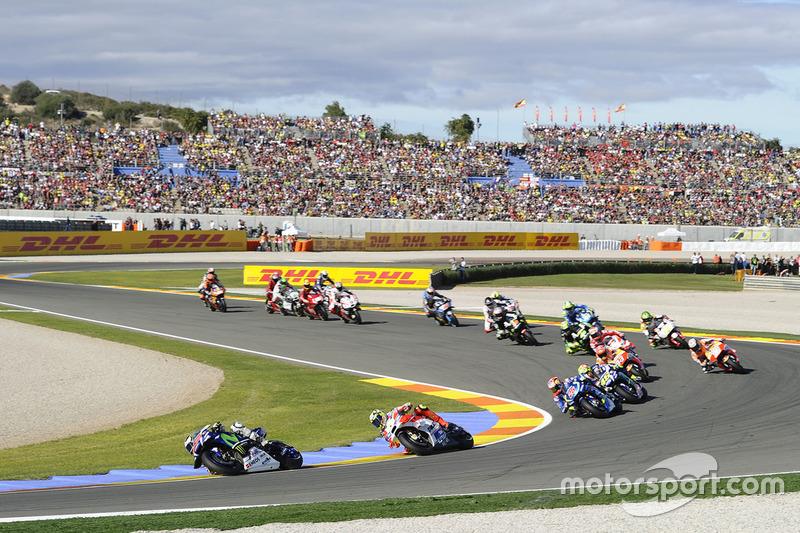 Хорхе Лоренсо, Yamaha Factory Racing, перше коло