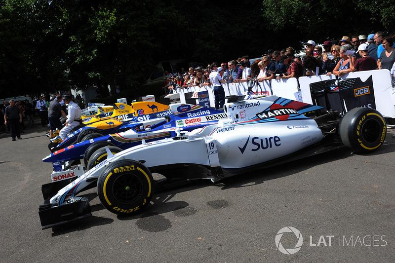 Машины Williams F1
