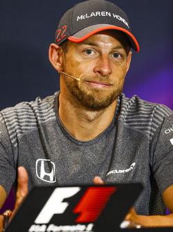Jenson Button, in the press conference