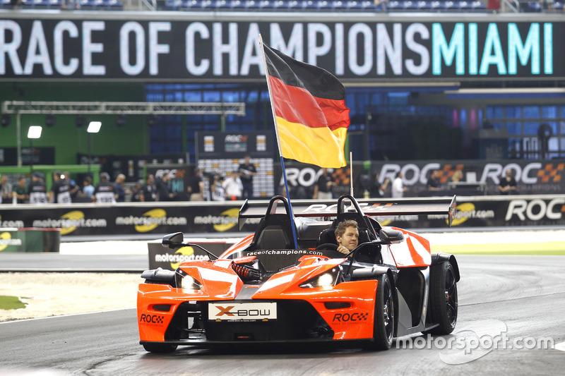 Sebastian Vettel, Team Alemania