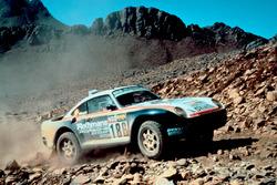 #186 Porsche 959: René Metge, Dominique Lemoyne