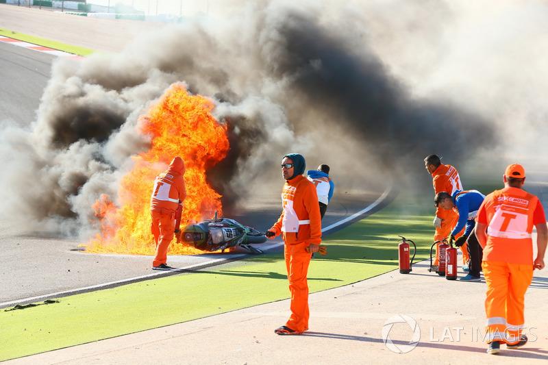 Аварія Тома Сайкса, Kawasaki Racing