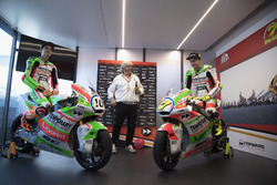 Luca Marini, Forward Racing e Lorenzo Baldassarri, Forward Racing con la nuova livrea