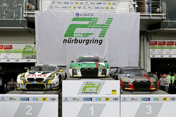 Podyum: 1. 29 Audi Sport Team Land-Motorsport, Audi R8 LMS: Christopher Mies, Connor De Phillippi, M