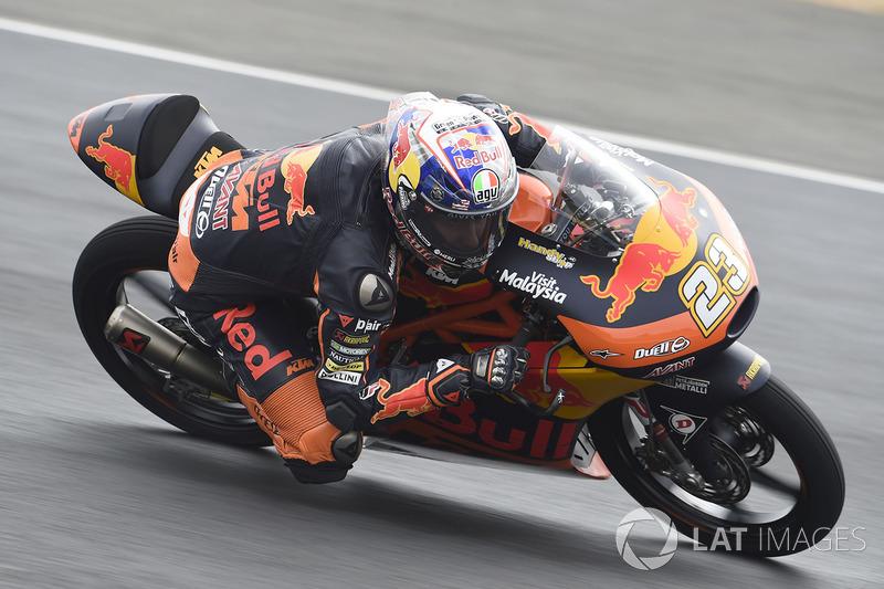 Niccolo Antonelli, Red Bull KTM Ajo at Le Mans