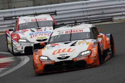 Tes Pramusim Super GT Fuji