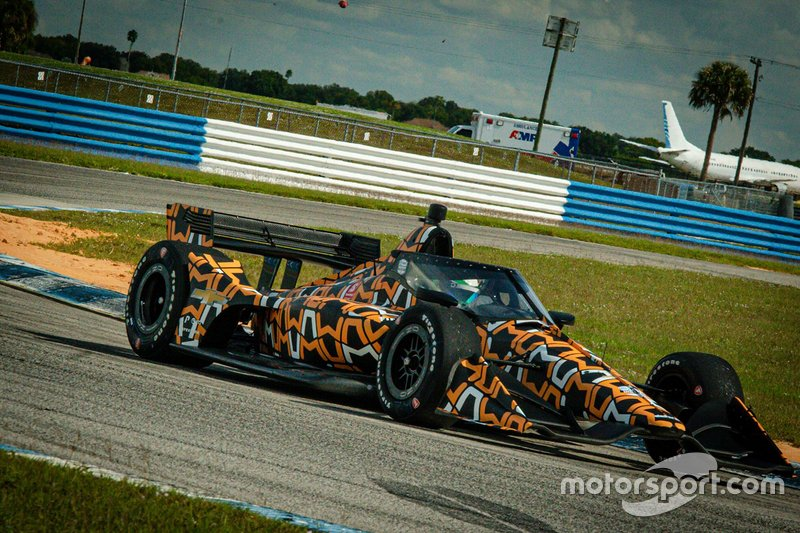 O'Ward turned five 20-lap stints of Sebring's short course in the Arrow McLaren SP-Chevrolet.