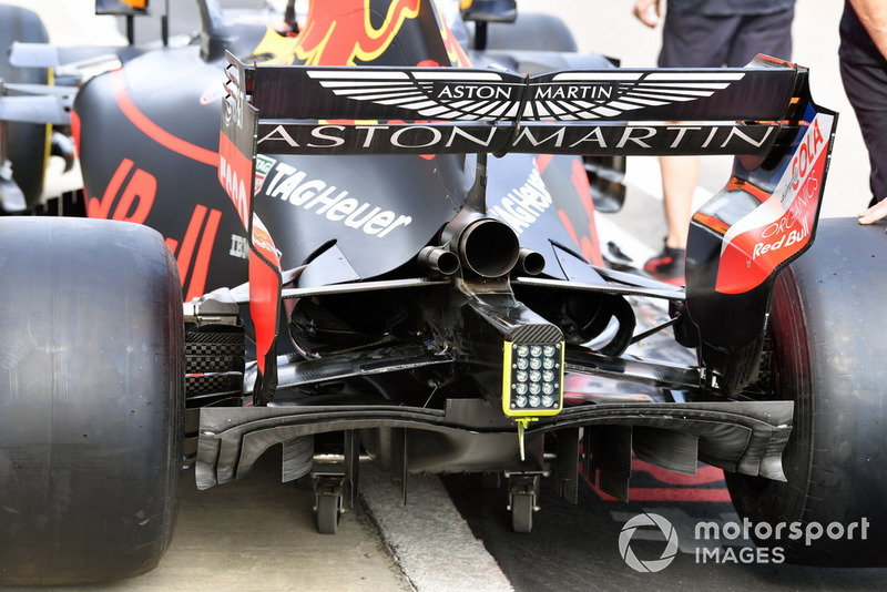 L'arrière de la Red Bull Racing RB14
