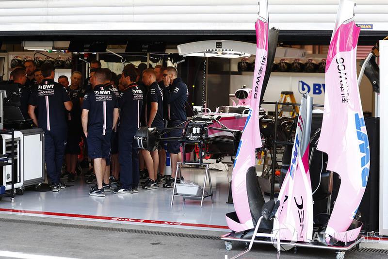Reunión de Force India F1