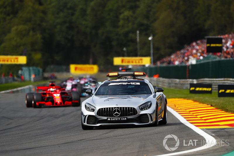 Güvenlik aracı ve Sebastian Vettel, Ferrari SF71H