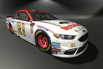 Paul Menard, Wood Brothers Racing, Ford Fusion
