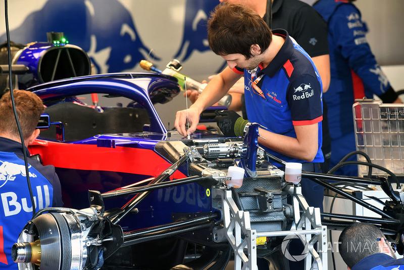 El STR13 Scuderia Toro Rosso