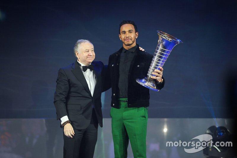 Lewis Hamilton, Mercedes-AMG F1, Jean Todt, presidente de FIA