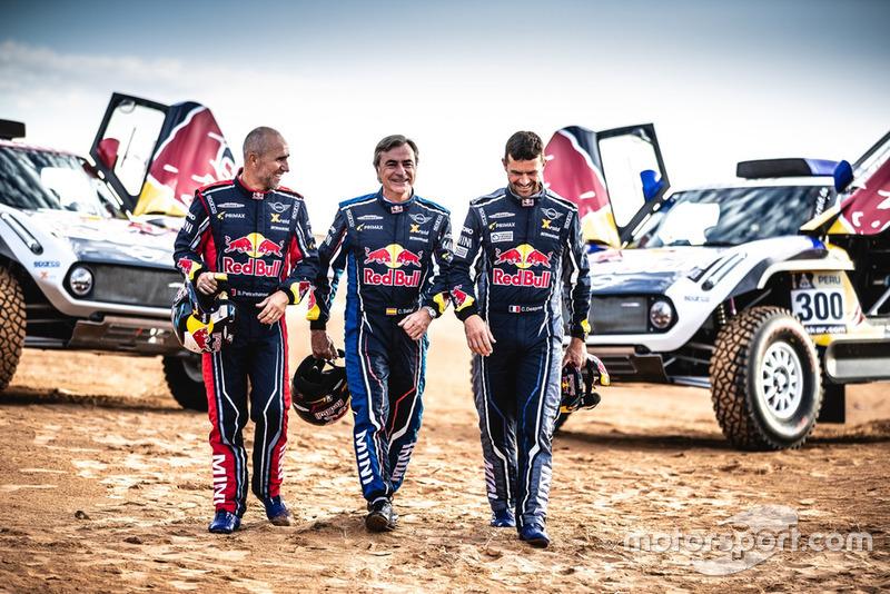 Carlos Sainz,Cyril Despres,MINI John Cooper Works Buggy,Stéphane Peterhansel,X-raid MINI JCW Team