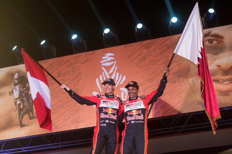 Подіум: #301 Toyota Gazoo Racing Toyota Hilux: Нассер Аль-Аттія, Маттьйо Бомель