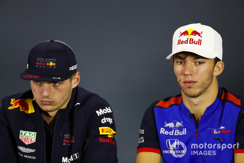 Max Verstappen, Red Bull Racing, Pierre Gasly, Toro Rosso