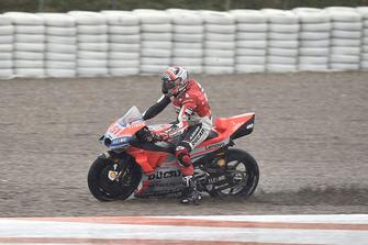Michele Pirro, Ducati team, va largo