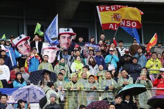 Tifosi di Fernando Alonso