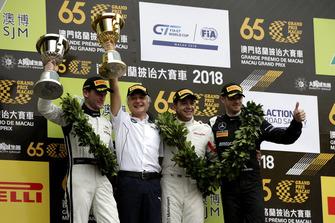 #42 BMW Team Schnitzer BMW M6 GT3: Augusto Farfus, #888 Mercedes-AMG Team GruppeM Racing Mercedes - AMG GT3: Maro Engelm #1 Mercedes-AMG Team GruppeM Racing Mercedes - AMG GT3: Edoardo Mortara