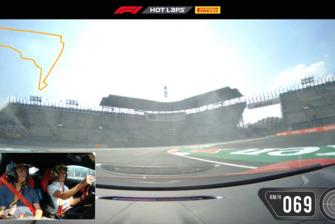 Pirelli Hotlap Mexico met Lando Norris en Erwin Jaeggi