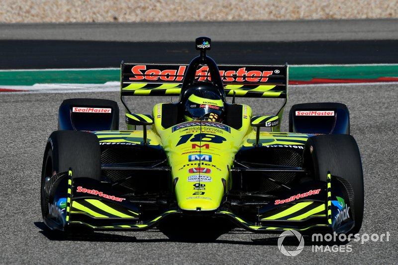 #18: Sebastien Bourdais, Dale Coyne Racing, Honda