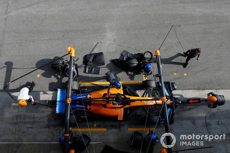 Пит-стоп: Ландо Норрис, McLaren MCL34