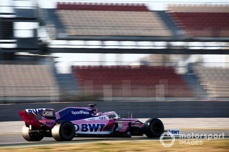 Sergio Perez,Racing Point F1 Team RP19