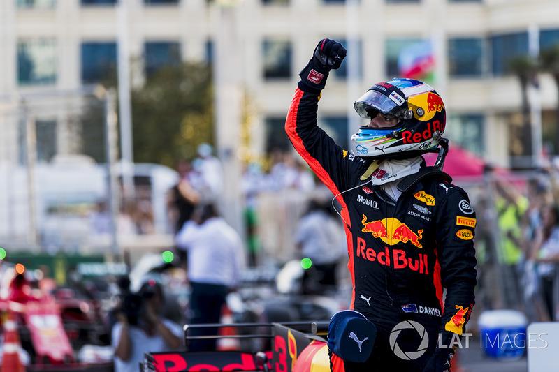 7. Daniel Ricciardo, Red Bull