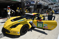 #63 Corvette Racing Corvette C7.R: Як Магнуссен, Антоніо Гарсія, Джордан Тейлор