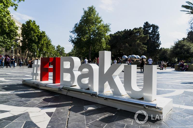 F1 Horarios GP de Azerbaiyán F1