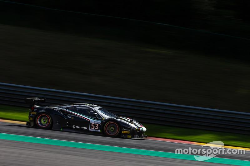 #53 Spirit Of Race Ferrari 488 GT3: Niek Hommerson, Louis Machiels, Andrea Bertolini, Rory Butcher
