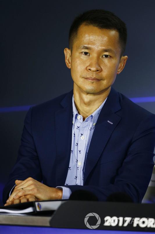 Pressekonferenz: Lionel Yeo, Geschäftsführer Tourismus, Singapur