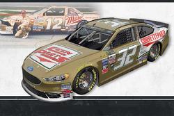 Throwback-Design: Matt DiBenedetto, Go Fas Racing Ford