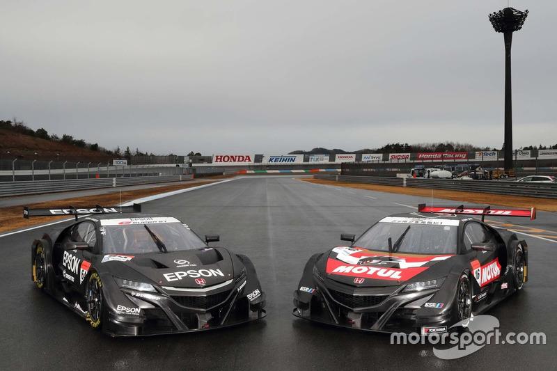 #16 チーム無限 NSX-GT, #64 NAKAJIMA RACING
