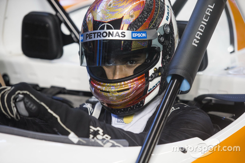 Pascal Wehrlein, in the pits