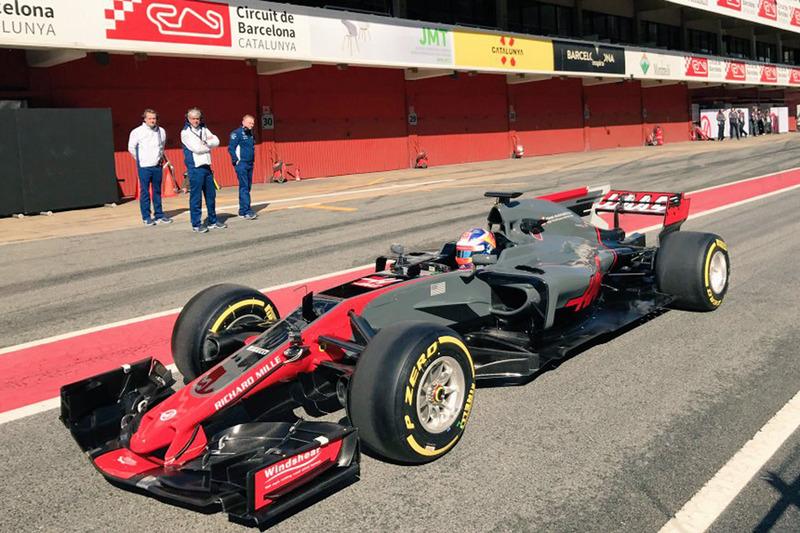 Шпигунське фото: Haas VF-17
