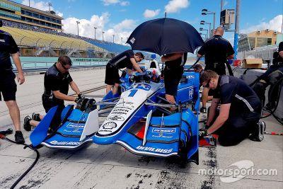 Ricky Taylor testet IndyCar