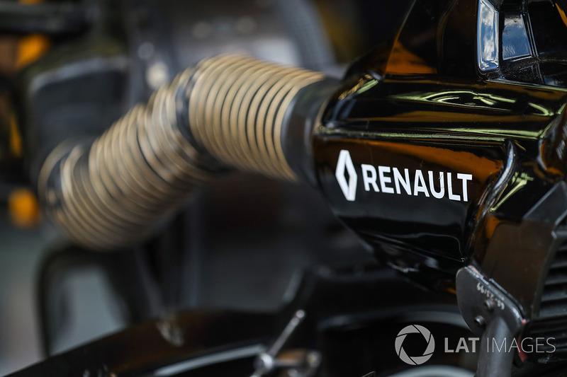 Охолоджувальний повітродув Renault Sport F1 Team