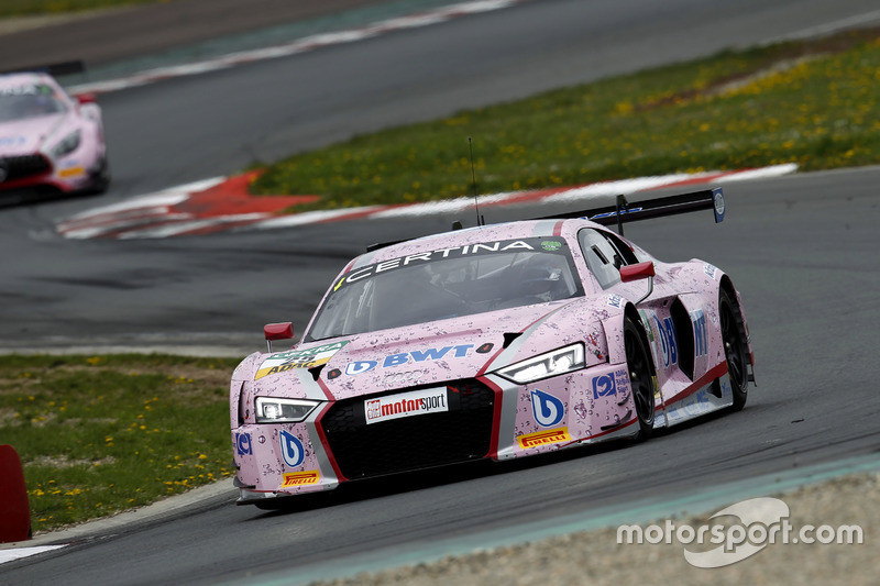 #25 BWT Mücke Motorsport, Audi R8 LMS: Mike-David Ortmann, Frank Stippler