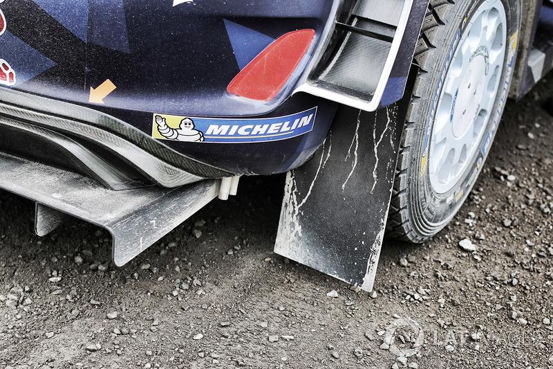 Ford Fiesta WRC M-Sport detalle