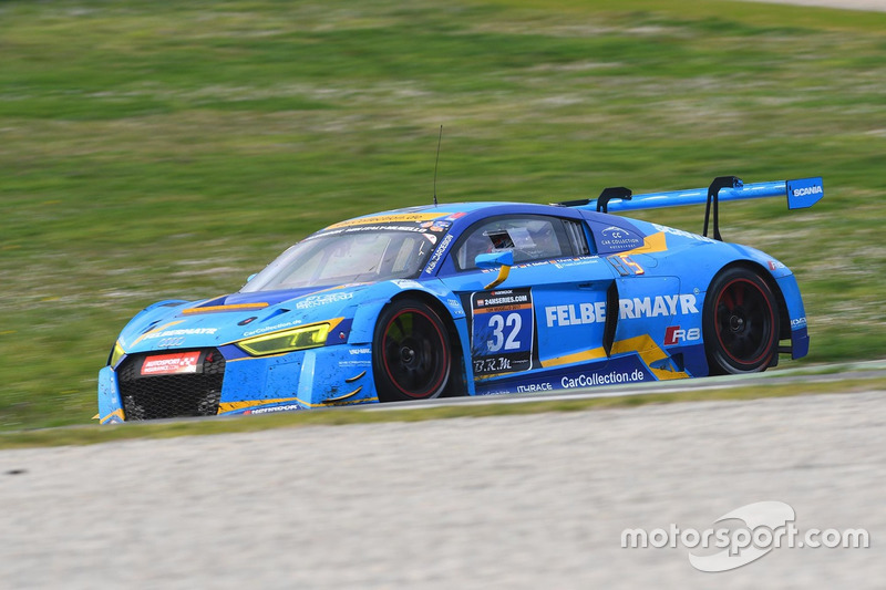 #32 Car Collection Motorsport, Audi R8 LMS: Max Edelhoff, Horst Felbermayr Jr., Toni Forne, Peter Sc