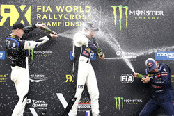 Podium: 1. Mattias Ekström, EKS, Audi S1 EKS RX Quattro; 2. Johan Kristoffersson, PSRX Volkswagen Sweden, VW Polo GTi; 3. Timmy Hansen, Team Peugeot-Hansen, Peugeot 208 WRX