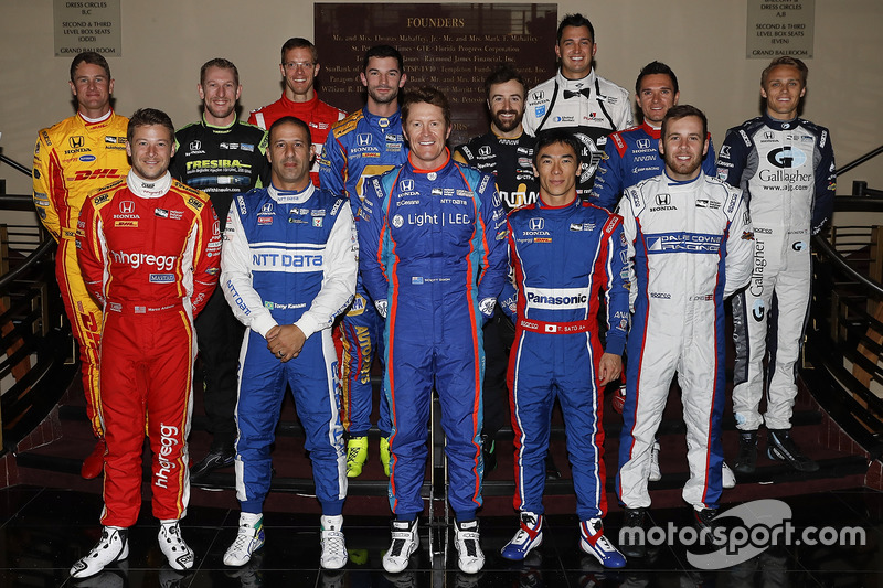 2017 Honda IndyCar drivers