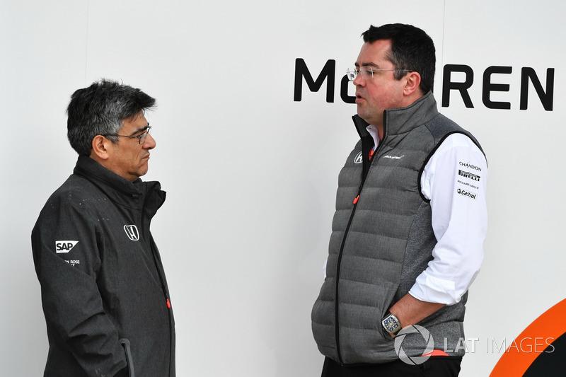 Гононий директор McLaren Ерік Бульє