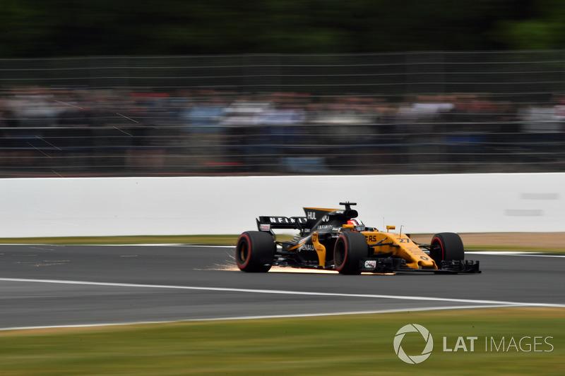 Ніко Хюлькенберг, Renault Sport F1 Team RS17, іскрить