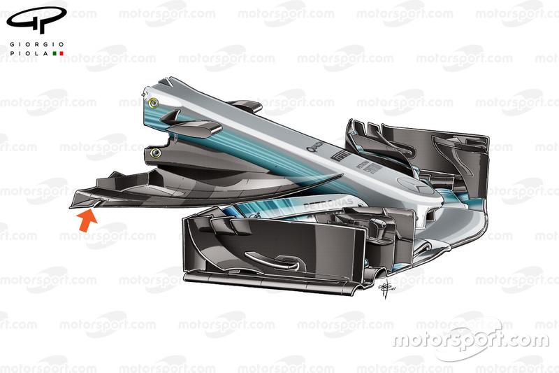 Mercedes F1 W08: Nase, GP Österreich