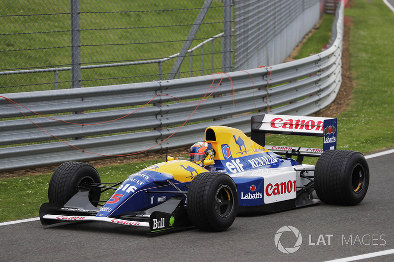 Karun Chandhok, Williams FW14B