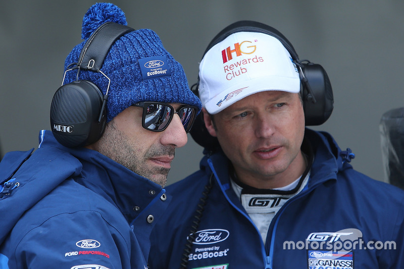 Tony Kanaan, Andy Priaulx, Chip Ganassi Racing Ford GT