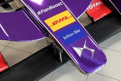DS Virgin Racing front wing detail