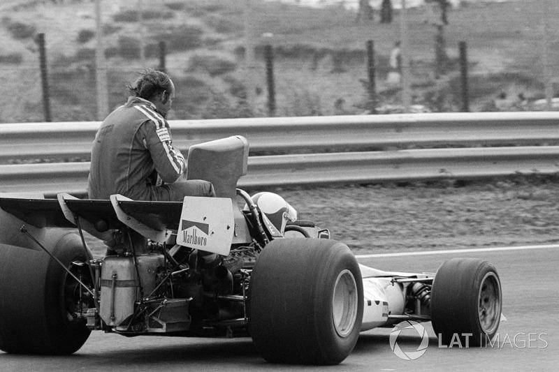 Клей Регаццоні, BRM P160E, Майк Хейлвуд, Surtees